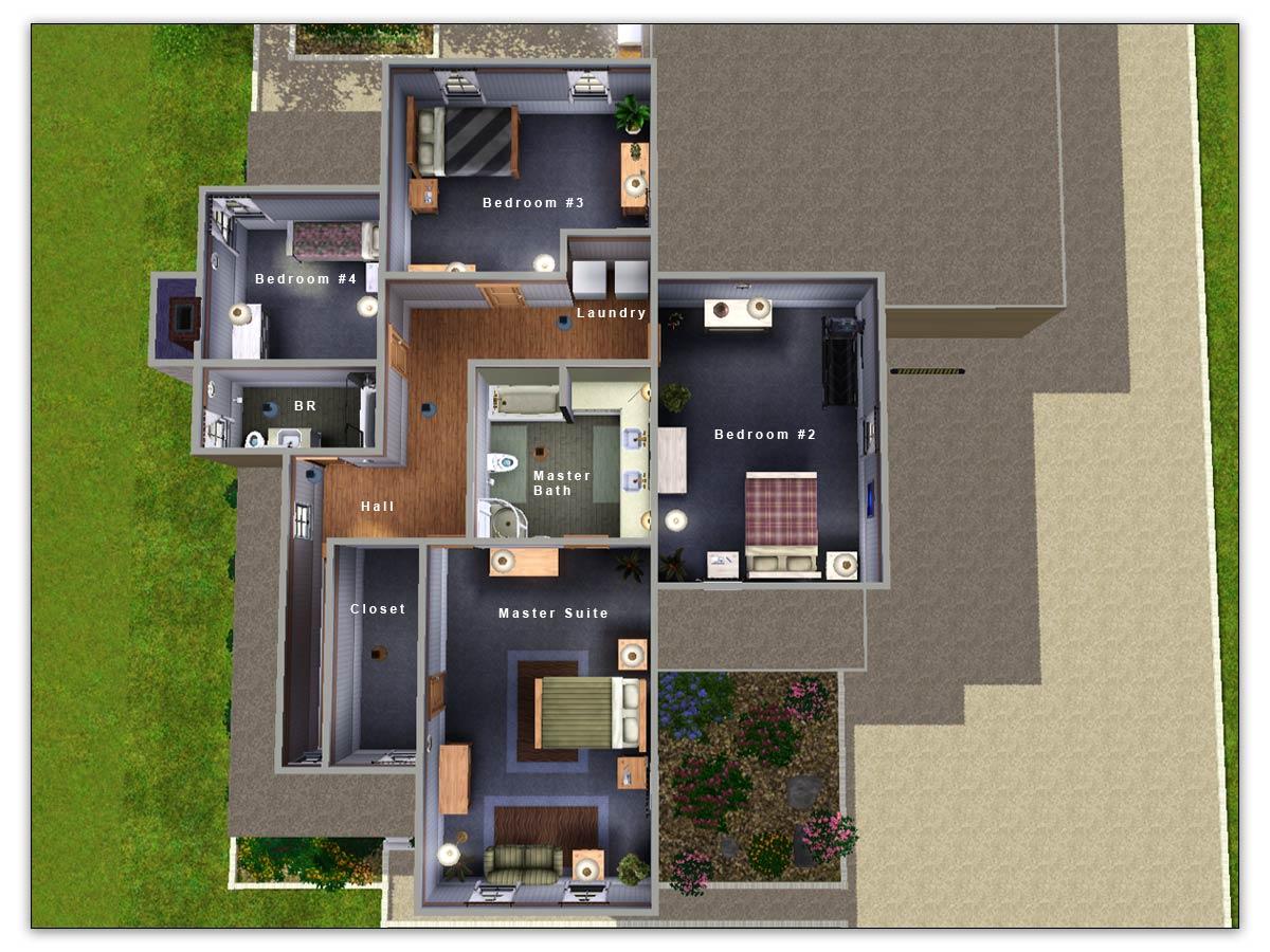 Floor Elevation Sims 3 : Mod the sims artisim cape cod charleston style