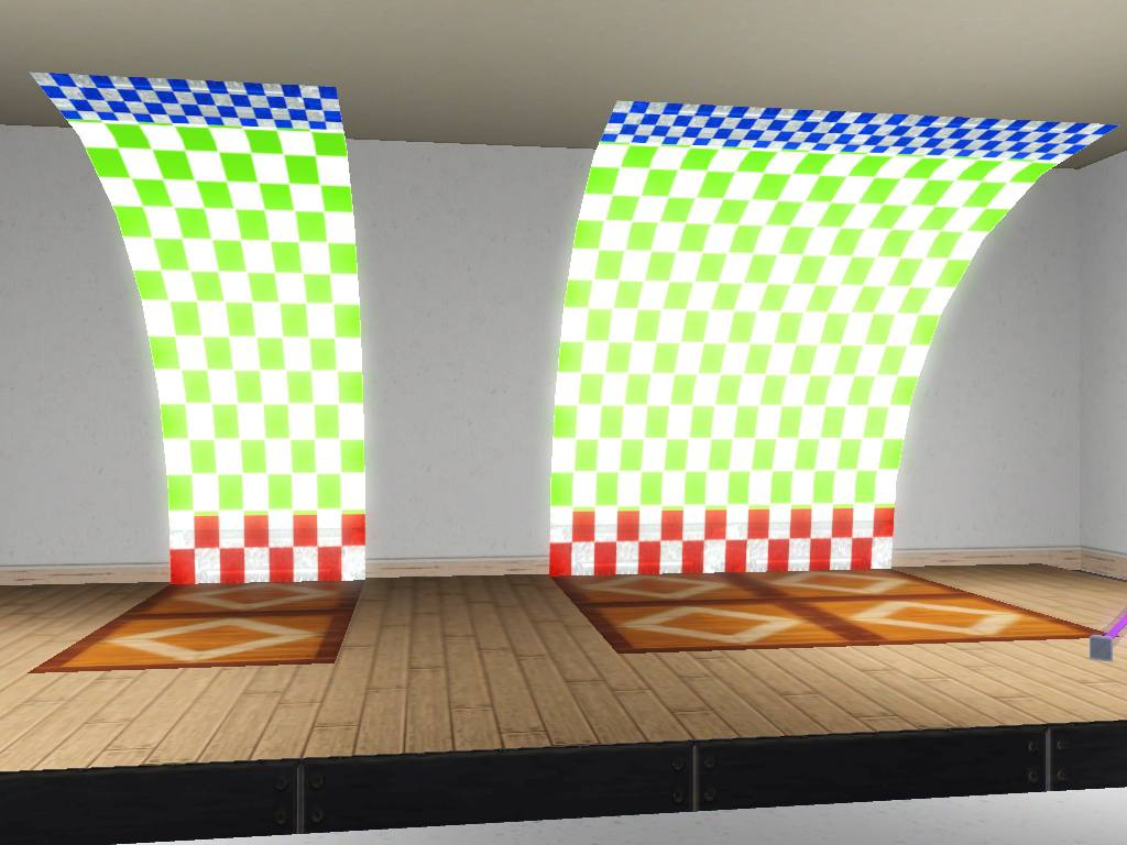 Mod The Sims Vaulted Ceiling Set For Ts3 Updated 6 28 12