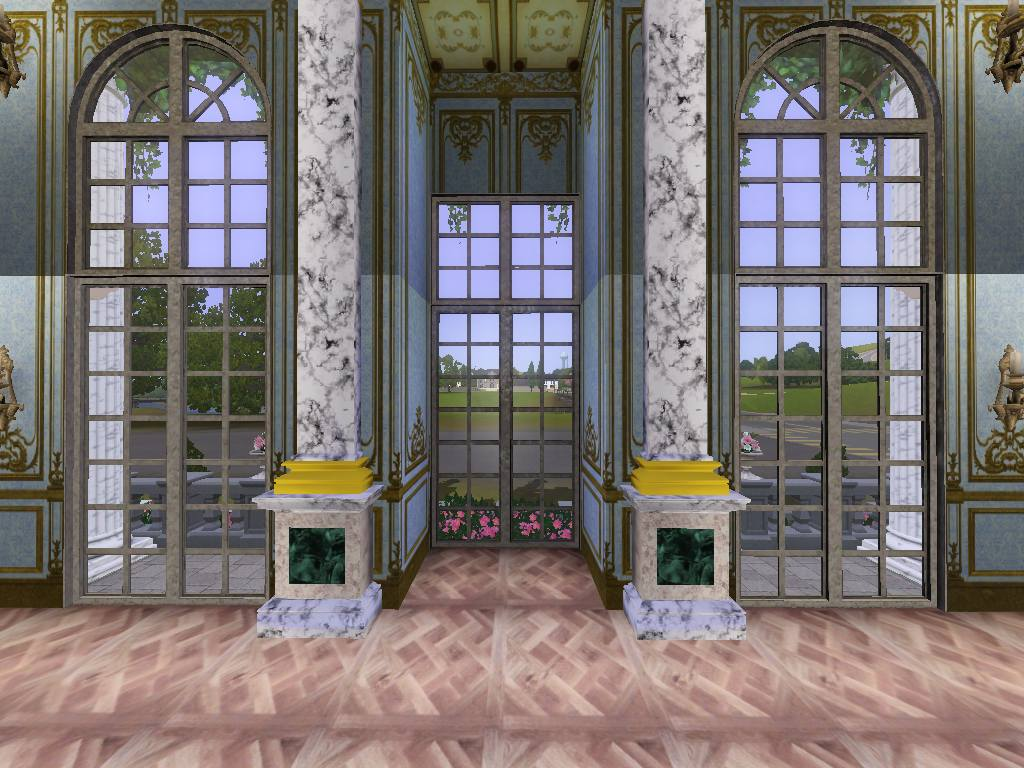 Mod The Sims Versailles Two Story Window Set Updated 6