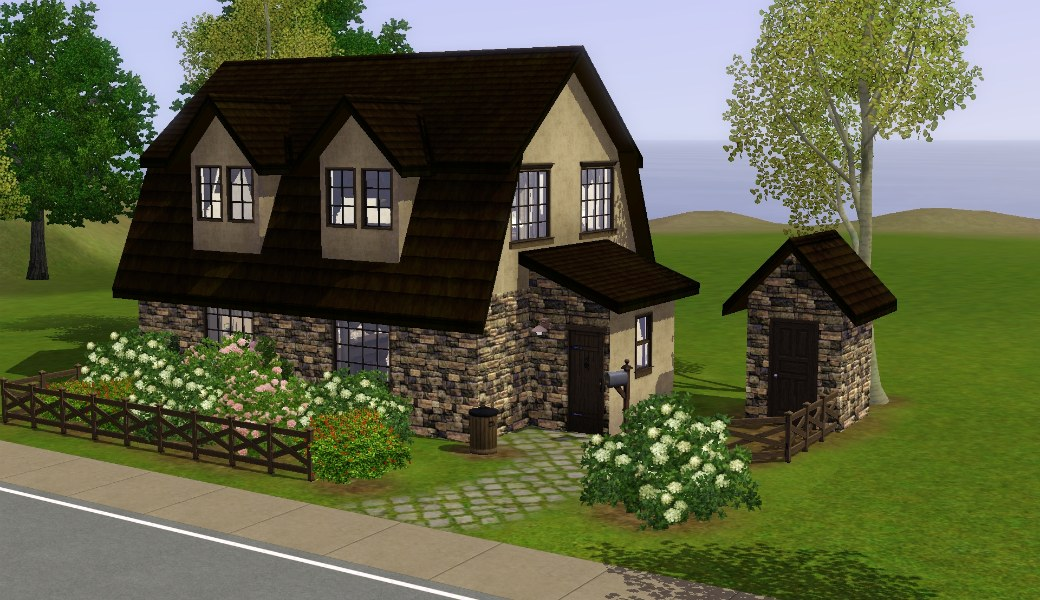 Mod The Sims - Medieval Residential Lots - Ye Olde Kingdom