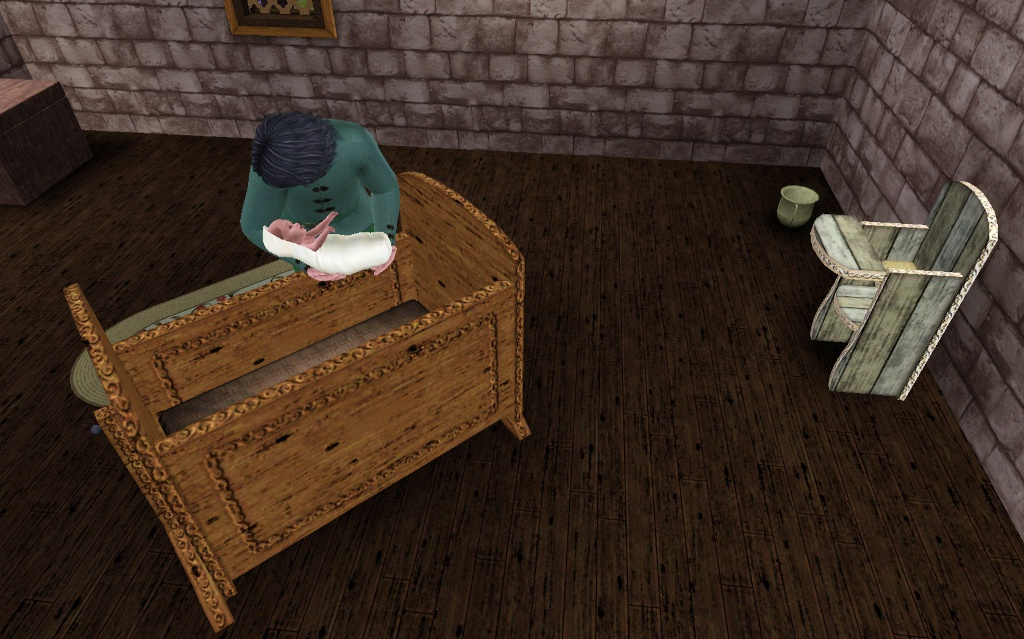 Mod The Sims Medieval Kids Furniture Part 1 Ye Olde