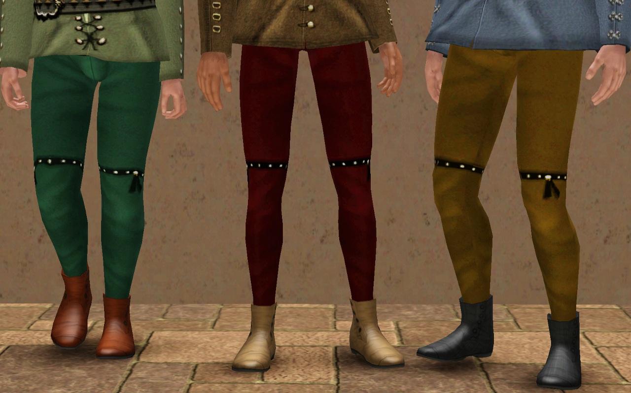 Medieval Clothes Men Pants Names