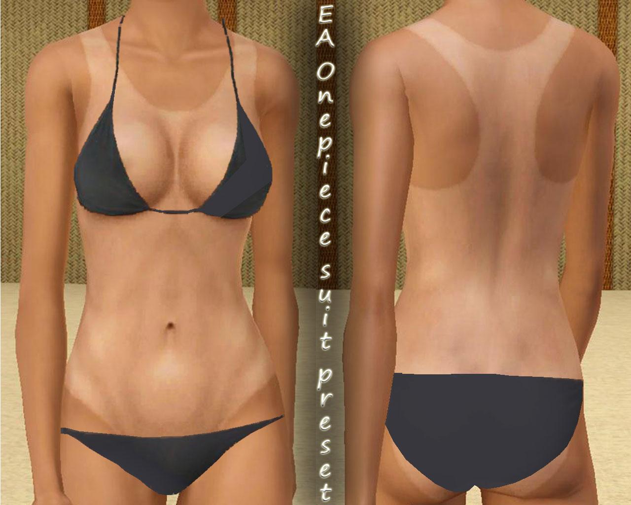 Bikini tan line photos commit error