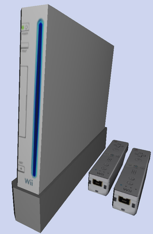 Mod The Sims - The Nintendo Wii-fully functional in 6 colors with