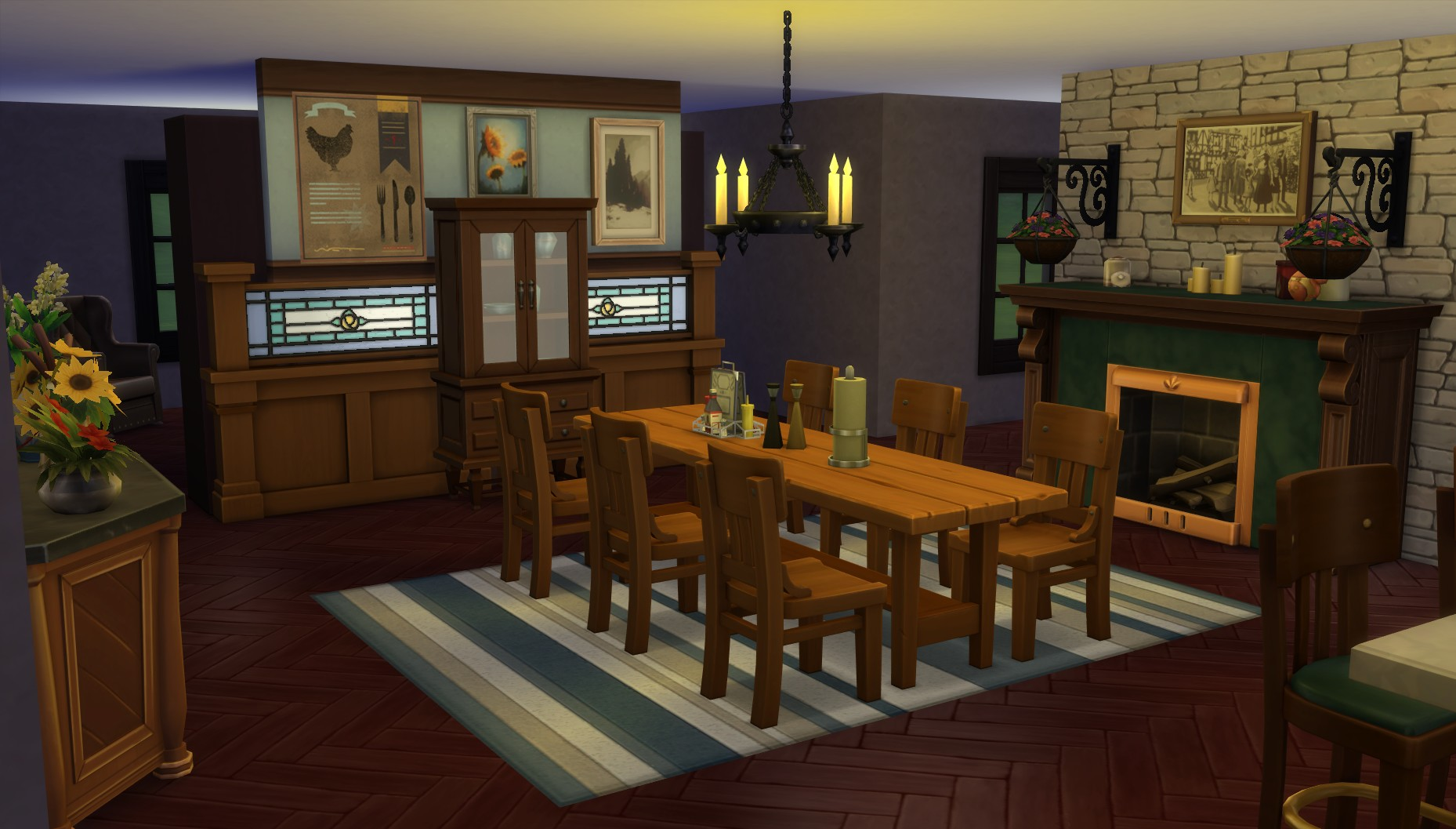 mod the sims single level ranch home