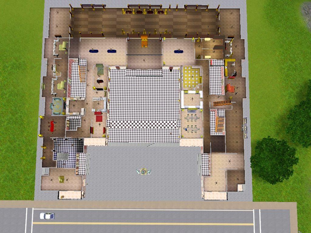 Game Room Floor Plans Mod The Sims Le Chateau De Versailles Built By A King
