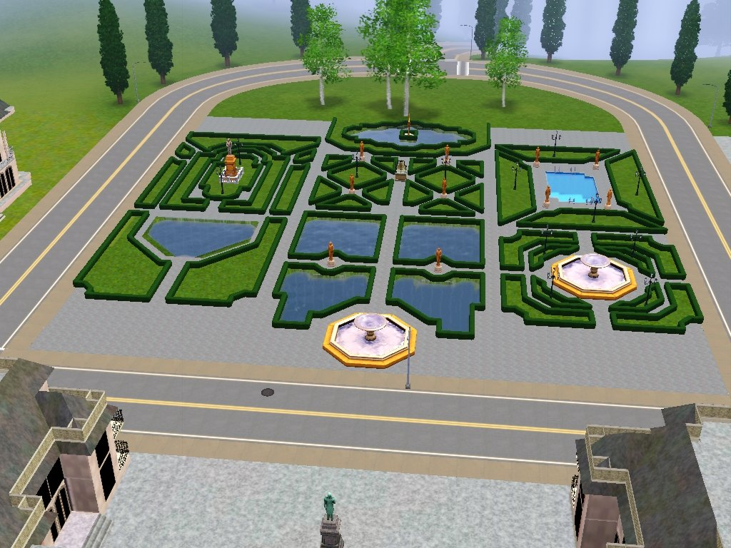 Mod The Sims Jardin Du Chateau De Versailles