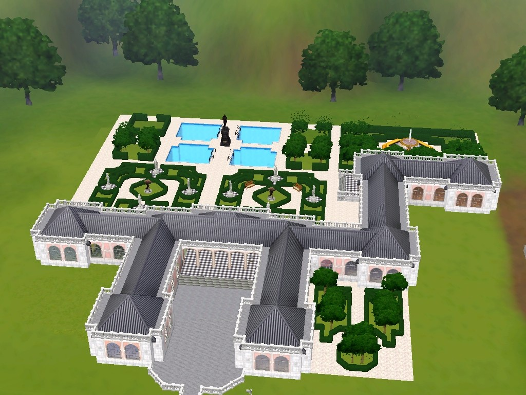 mod the sims le grand trianon retreat of kingly proportions. Black Bedroom Furniture Sets. Home Design Ideas
