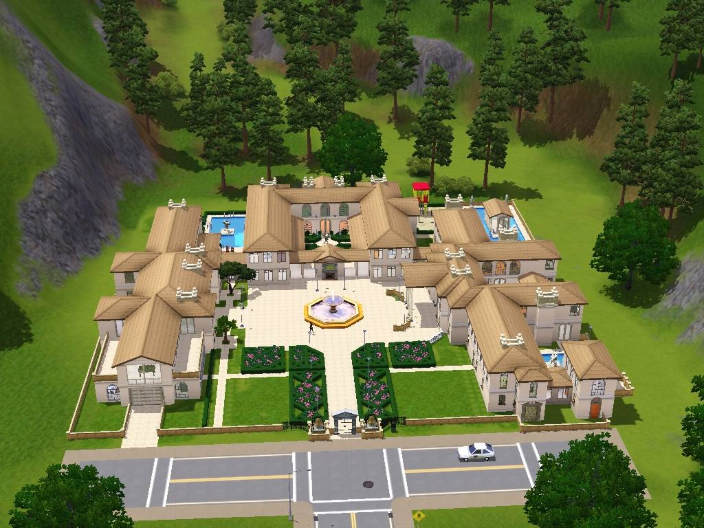 Mod The Sims Fairfield Estate Built For A King