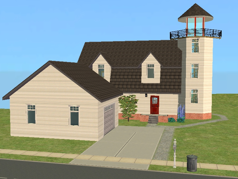 Dream Lighthouse Home Plans 9 Photo Home Building Plans