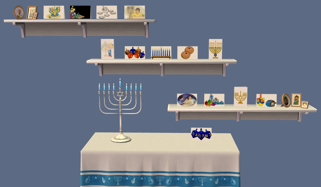 Mod The Sims So Much To Celebrate 14 Hanukkah And 7 Kwanzaa Cards