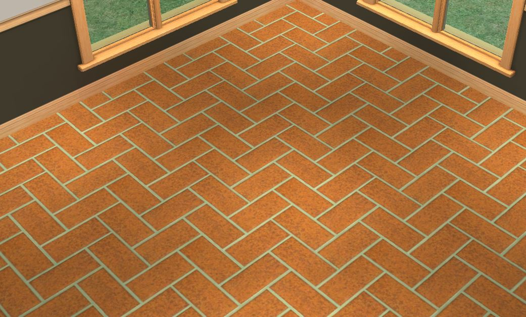 Mod The Sims 3 Deluxe Brick Flooring
