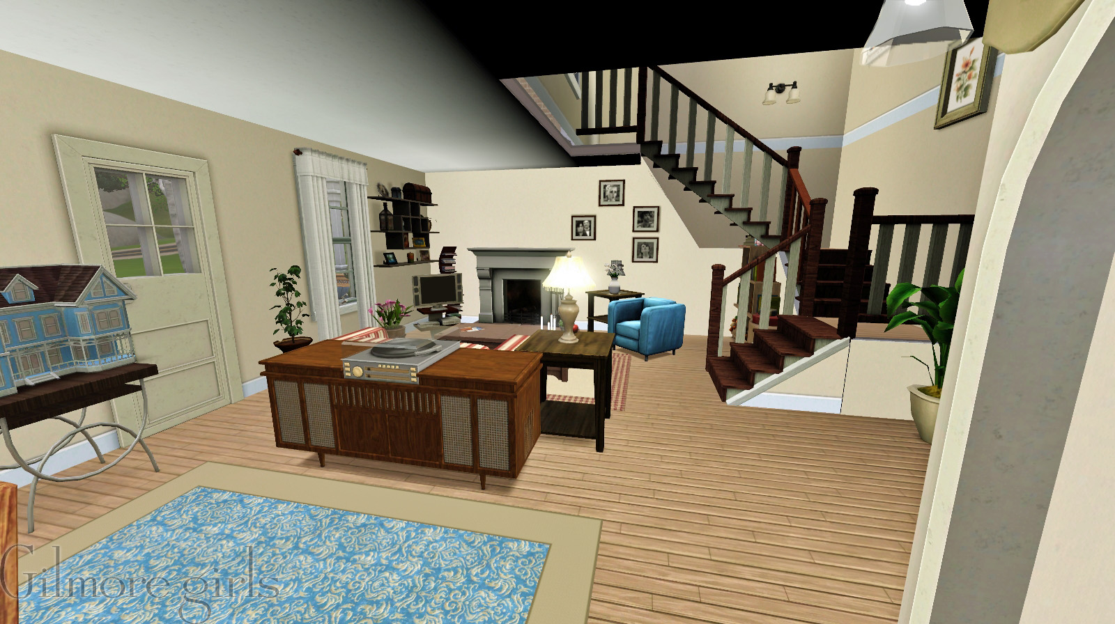 Gilmore Girls House mod the sims - the gilmore girls house