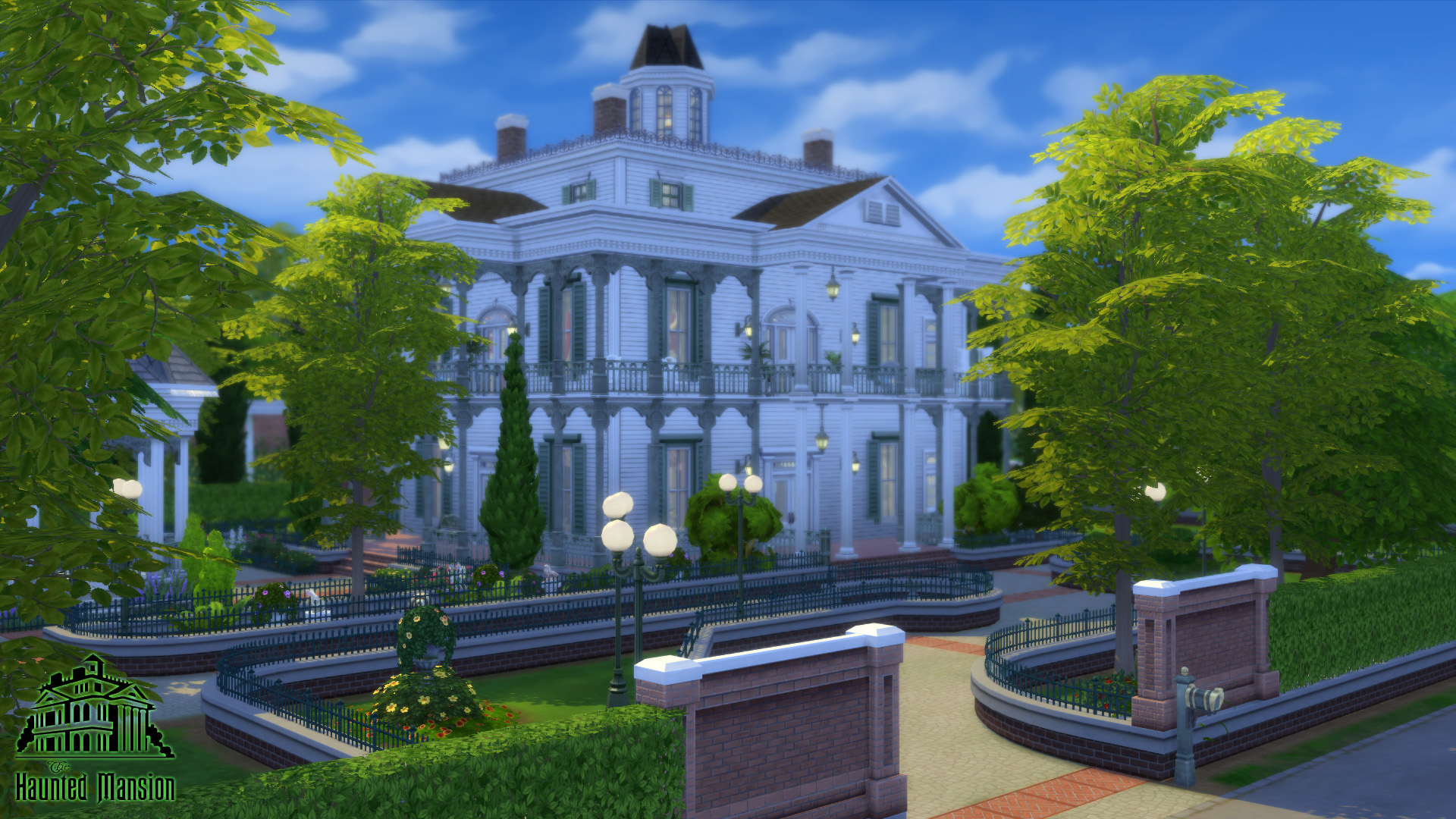 Sims 4 haunted mansion download | sbrizolone's The Haunted