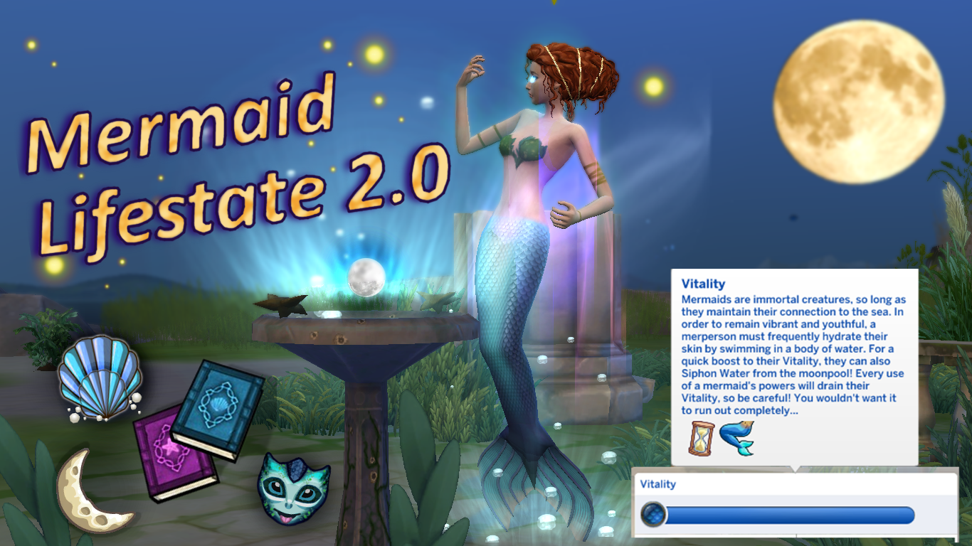 Mod The Sims - Mermaid Lifestate 2 0