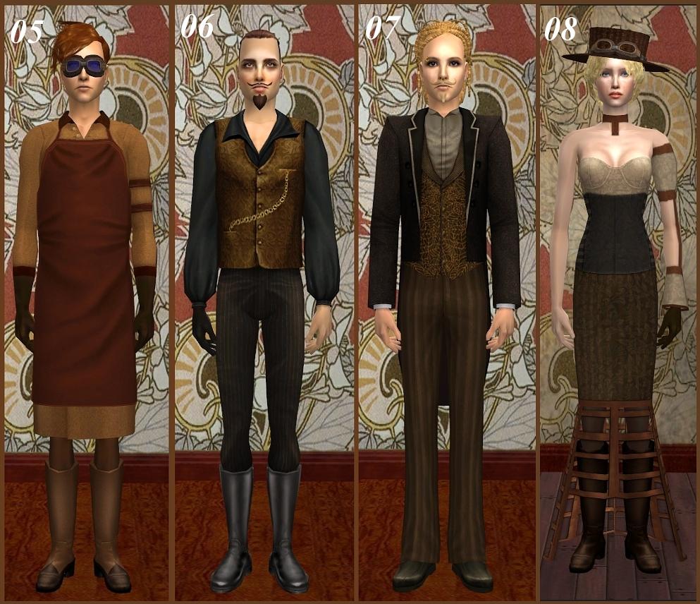 Mod The Sims Steampunk Set Pt 2 Edited