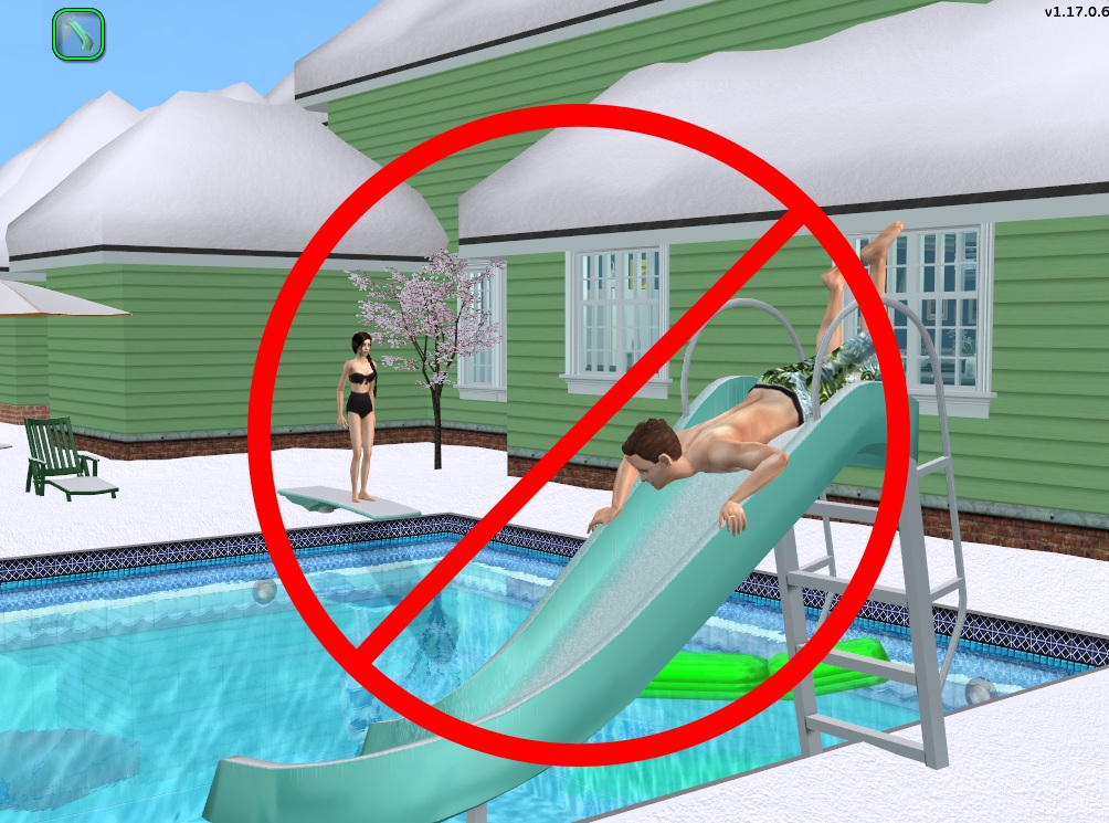 Mod the sims seasonal pool autonomy changes for Swimmingpool gummi