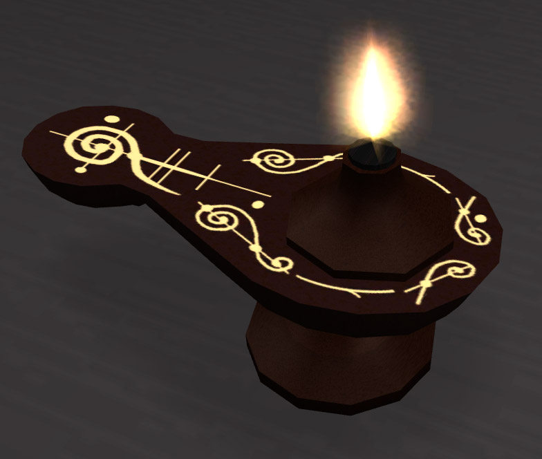 Mod The Sims - *UPDATED* Live Long and Prosper: A Vulcan meditation lamp, as seen on
