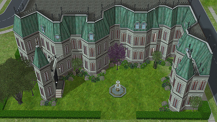 the sims 2 mansion and garden download