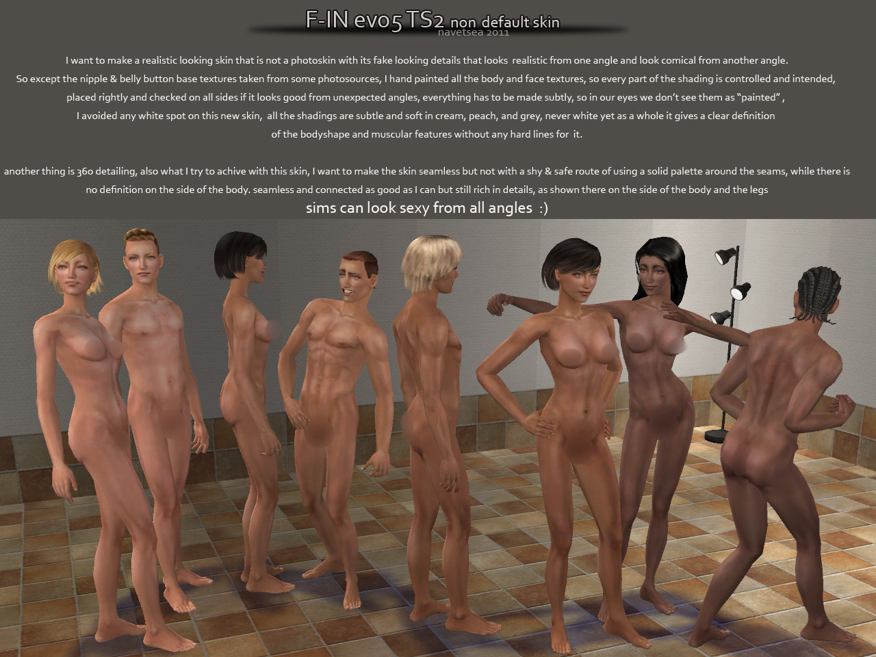 Sexy sims hunter rug nude pictures