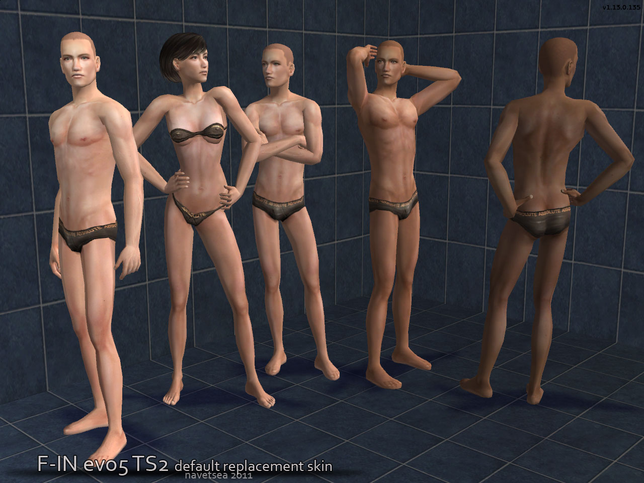 Downloads nude sims skin something is
