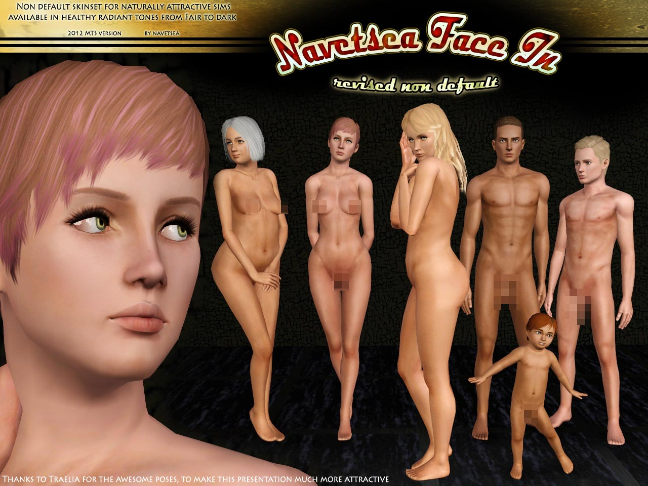 Remarkable, rather Downloads nude sims skin are absolutely