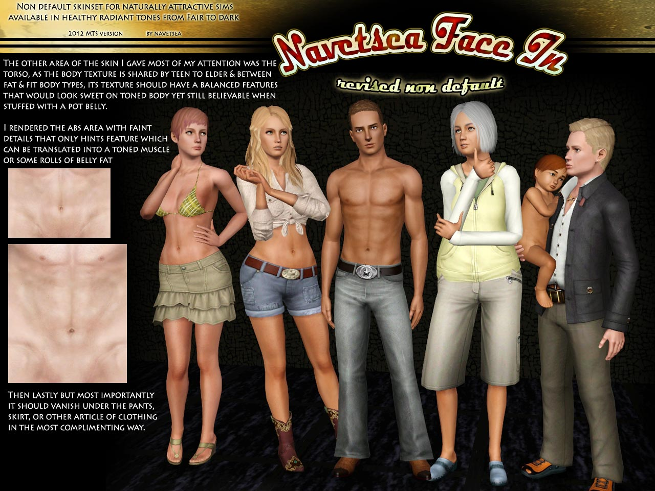 Sims 2 realistic default reaplcement skins hentia pic