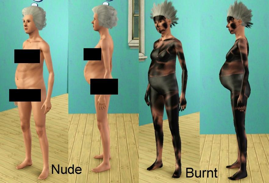 Sims 2 boob clothes