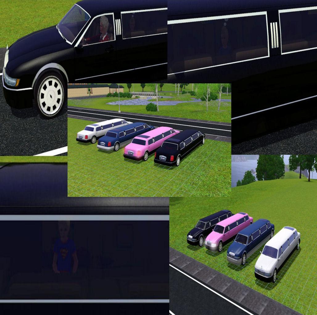 Как в симсе 3 сделать лимузин