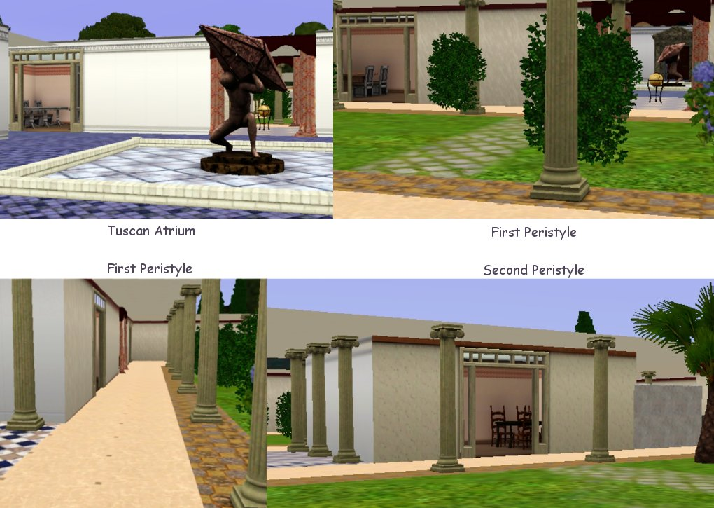 Mod The Sims The House of the Faun Pompeii Italy