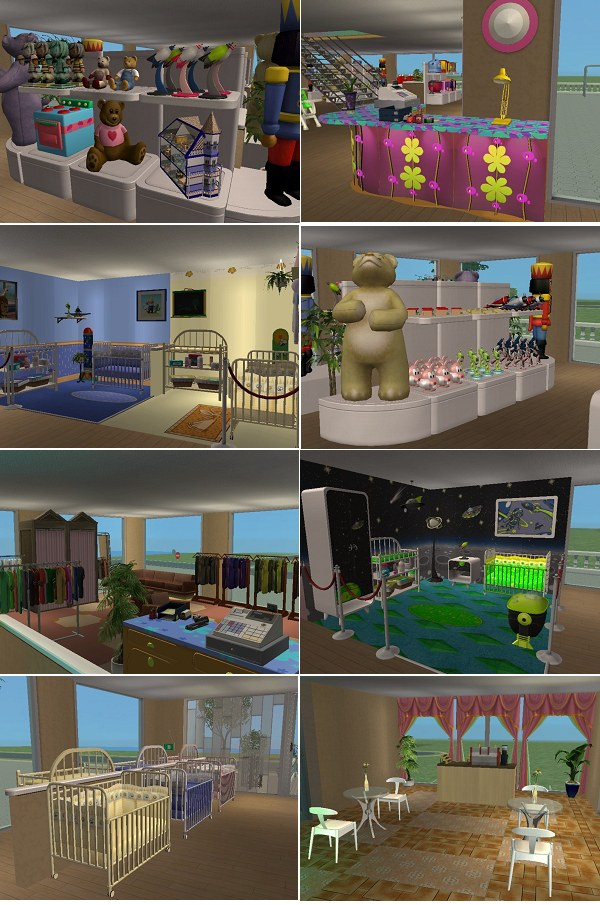 I hope you all have fun taking your Sims here to do their baby shopping. Mod The Sims   Sims Baby Store