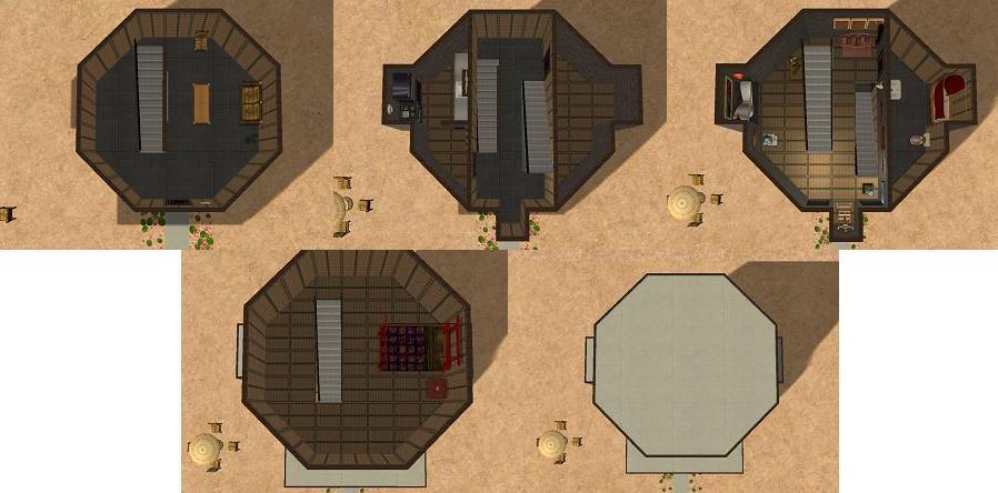 Mod The Sims - Spongebob Squarepants Project #4 Squidward's