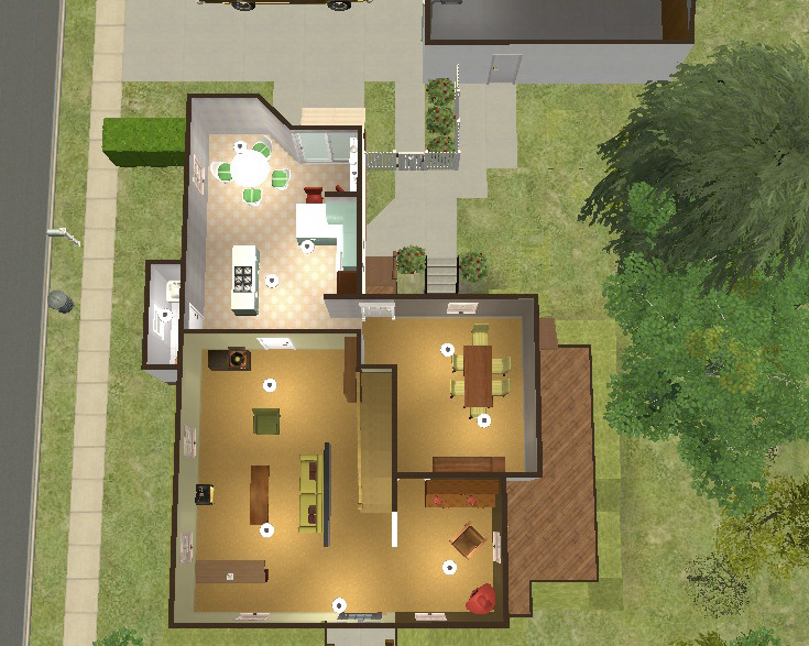 Mod The Sims The Forman 39 S House That 70 39 S Show
