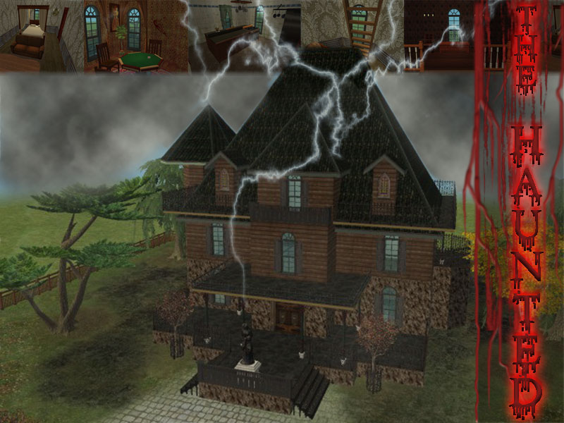 Sims 2 Haunted Mansion by RamboRocky on DeviantArt