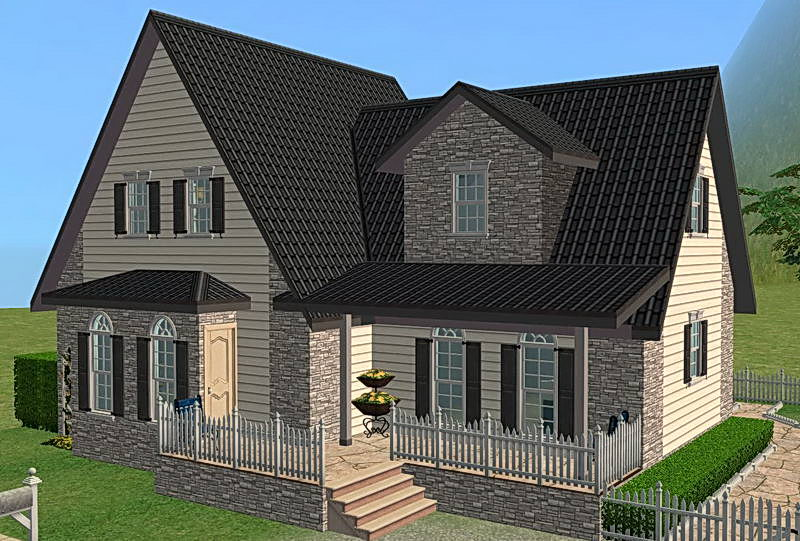 Incredible Mod The Sims Simple Way 9 Cute Family House No Cc Largest Home Design Picture Inspirations Pitcheantrous