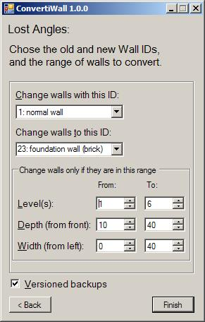 Mod The Sims - ConvertiWall 1 2 - Change Wall IDs on a Lot (Updated