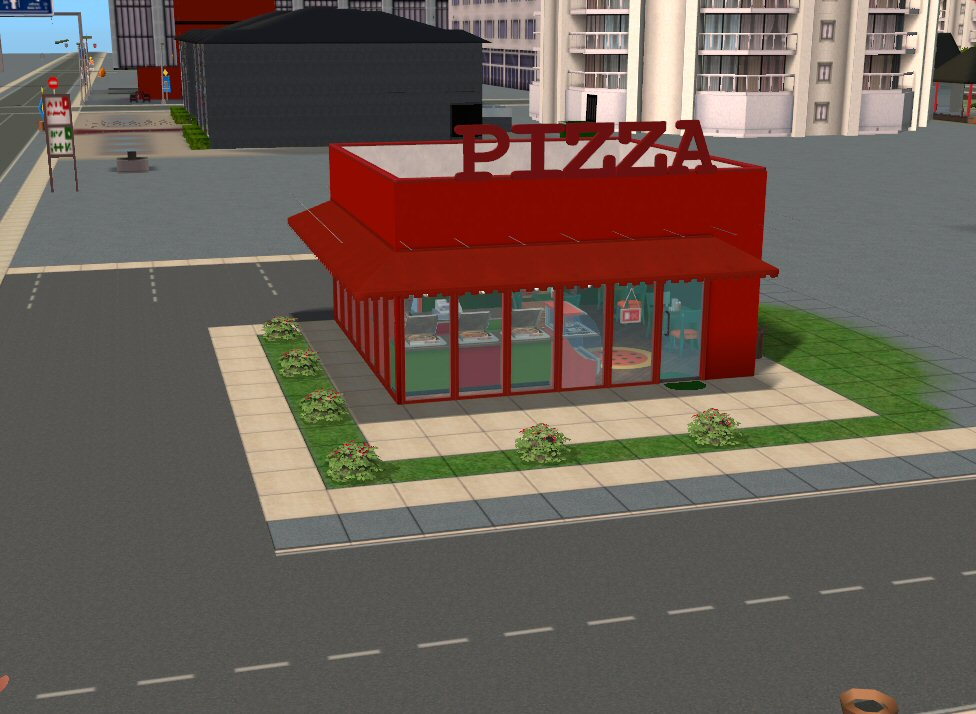 Mod The Sims Pizza Restaurant