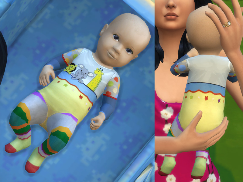 Mod The Sims Bienchen 180 S Baby Outfits Version 2