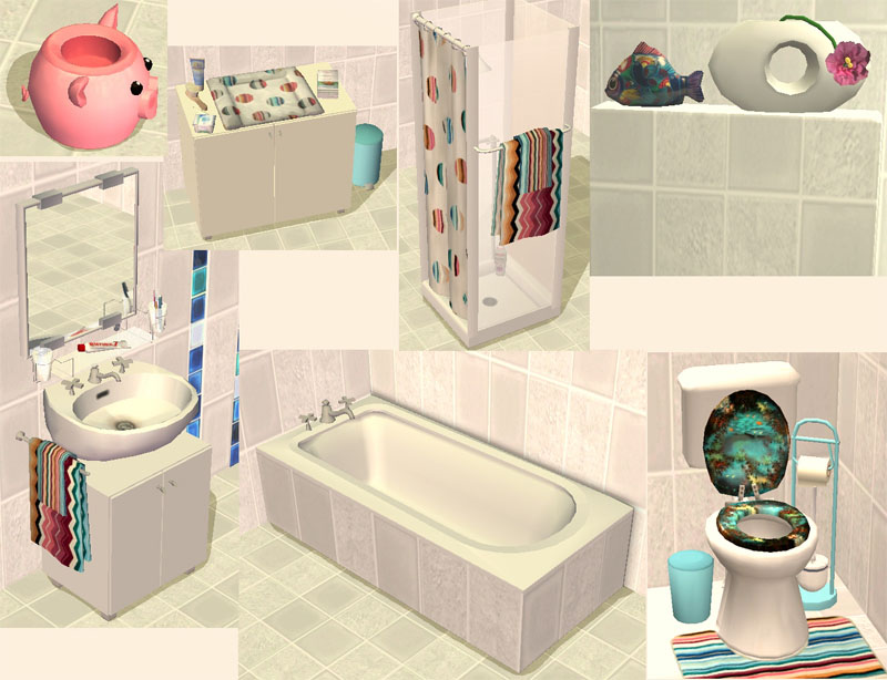 . Mod The Sims   bath  Sophie    all EPs supported  but NOT required