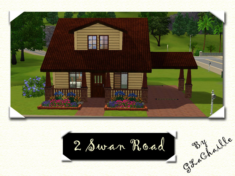 Mod the sims 2 swan road for Sims 2 house designs floor plans