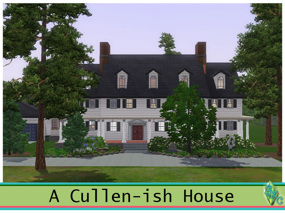 Forks cullen house cheap day esme always leaves a note for Edward cullen house