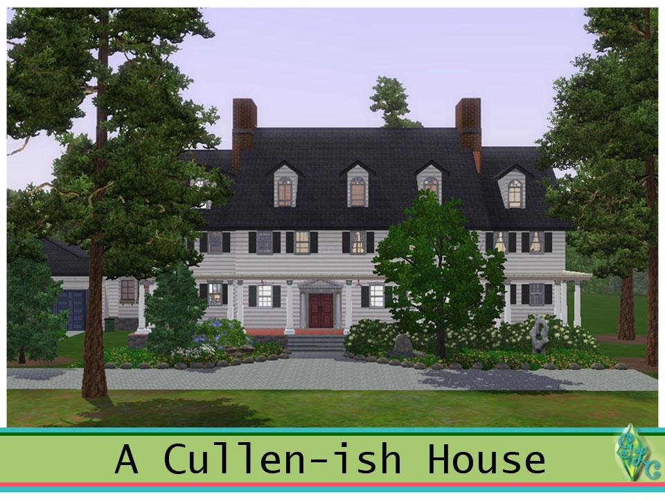 Cullen Family House Floor Plan