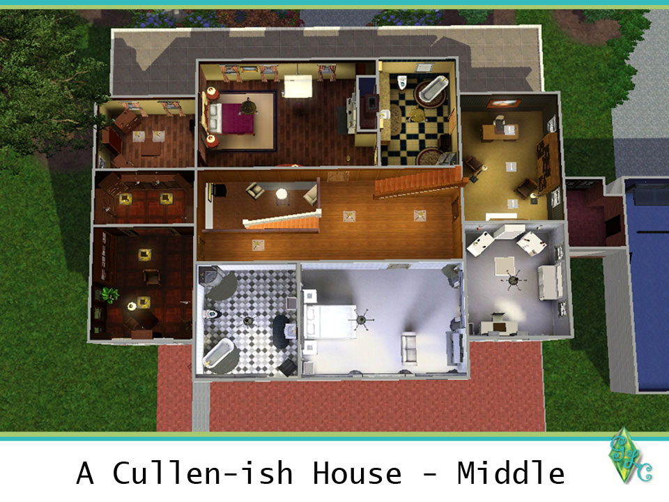 Mod The Sims A Cullen Ish House