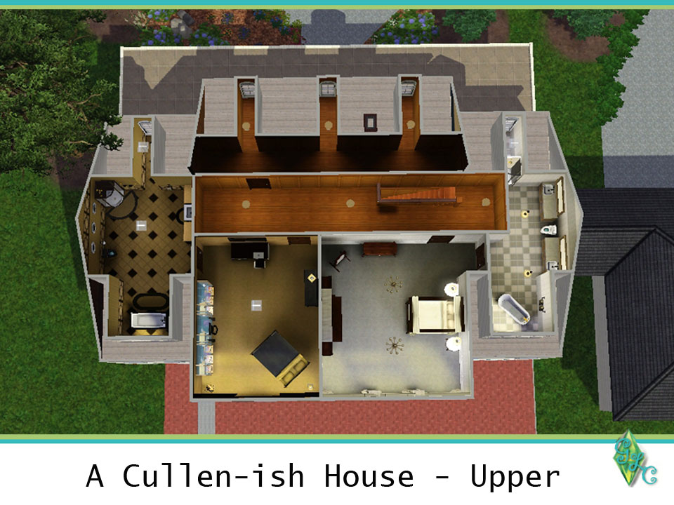 Cullens House From Twilight cullen house floor plan - escortsea