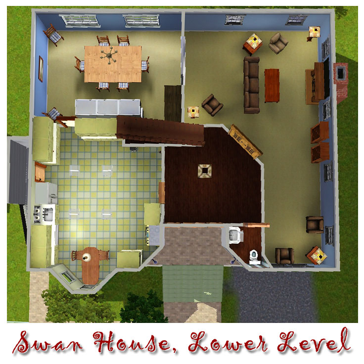 Mod The Sims The Swan House From Twilight Movie Version
