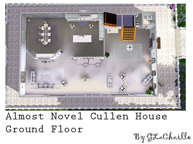 Mod The Sims The Almost Novel Cullen House Based On The