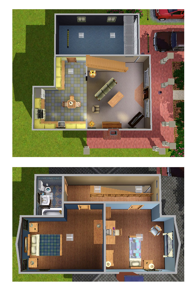 Mod The Sims Almost Novel Swan House Novel Version