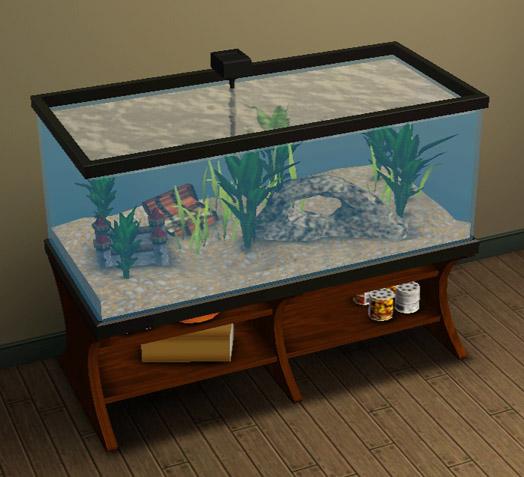 Mod the sims fish tank capacity mod (gen compatible! ).