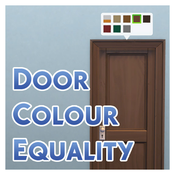 x  sc 1 st  Mod The Sims & Mod The Sims - Door Colour Equality