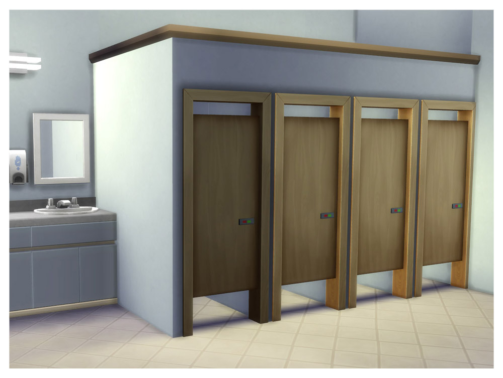 Bathroom Stalls Sims 3 mod the sims - simple toilet stall door